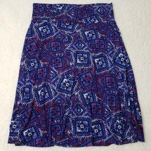 XL LuLaRoe Azure skirt